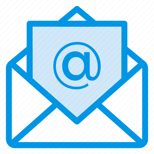 business, email, envelope, letter, mail, message, open icon
