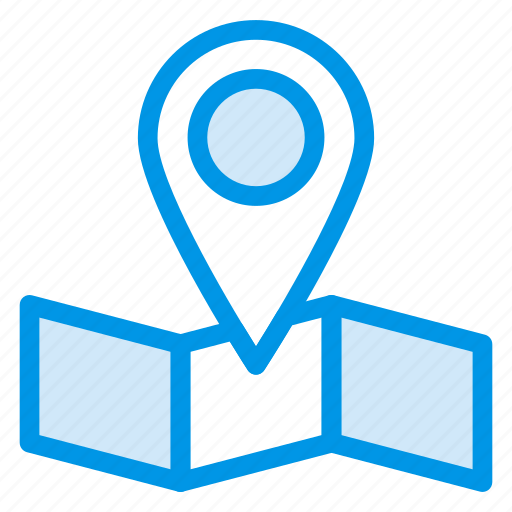 direction, ecommerce, gps, location, map, navigation, place icon
