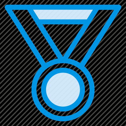 achievement, award, medal, prize, sports, winner, winning icon
