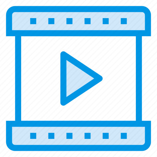 Control, media, player, camera, video, movie, film icon