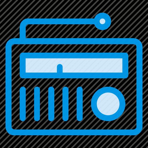 audio, device, electronic, music, player, radio, wireless icon