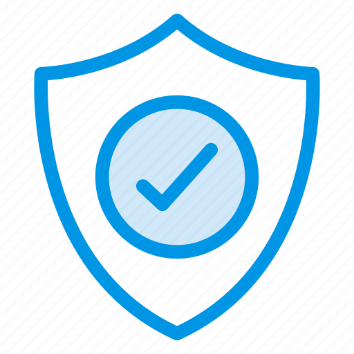check, ok, protected, safe, secure, security, shield icon