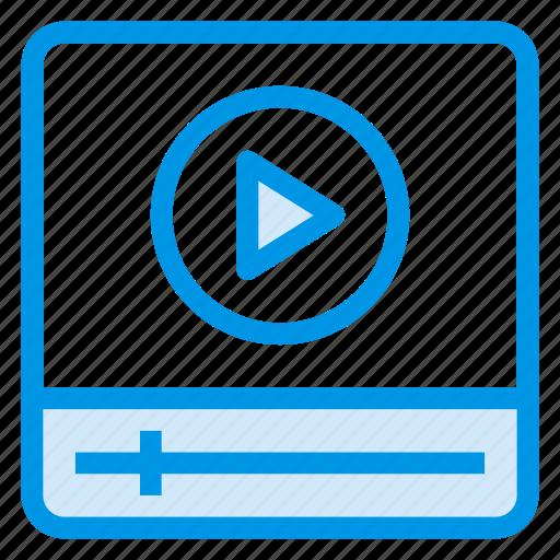 cinema, media, multimedia, music, play, player, video icon