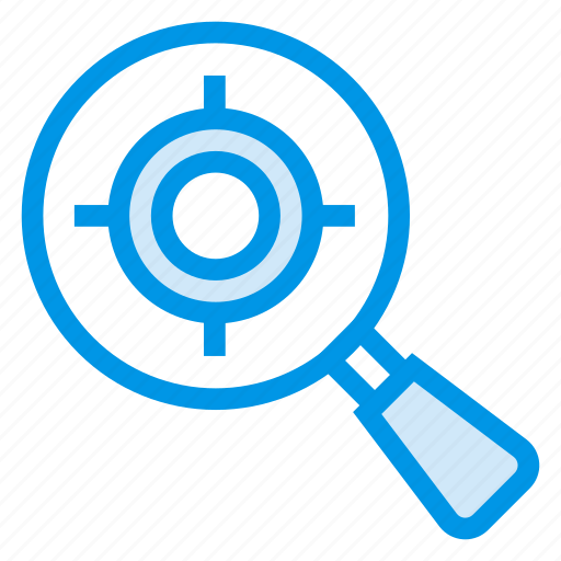 keyword, magnifier, marketing, search, seo, target, website icon