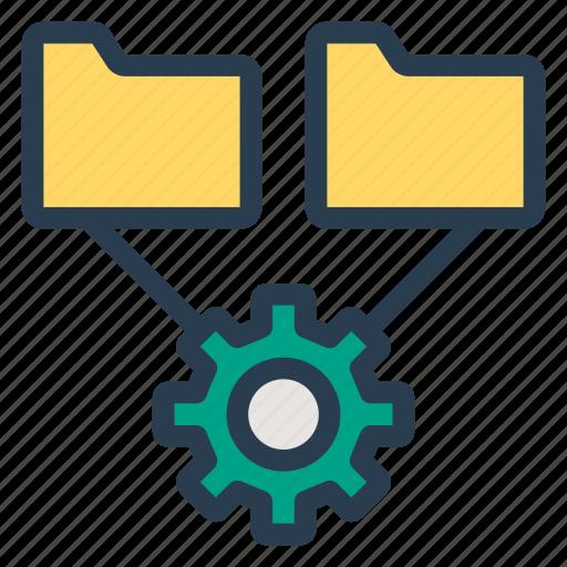 automation, configuration, edit, folder, gear, setting, system icon