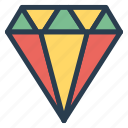 award, badge, best, diamond, excellent, premium, quality icon
