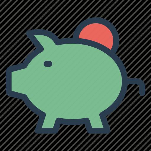 Piggybank, saving, money, budget, savings, piggy, bank icon