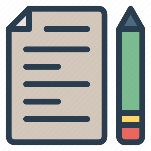 blog, book, content, edit, marketing, paper, writing icon