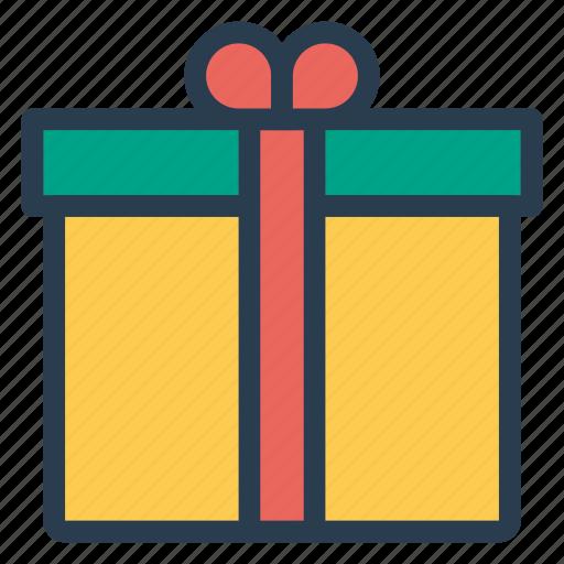 box, gift, holiday, love, present, shopping, valentine icon