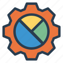analytics, business, chart, graph, piechart, piegraph, statistics icon