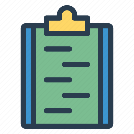 Assignment, board, business, clipboard, document, notepad, office icon - Download on Iconfinder