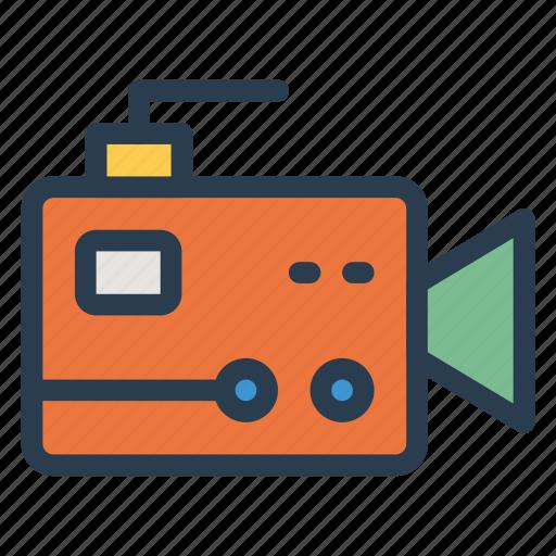 camera, device, media, movie, multimedia, recorder, video icon