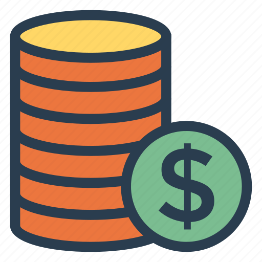 banking, business, coin, coins, commerce, finance, money icon