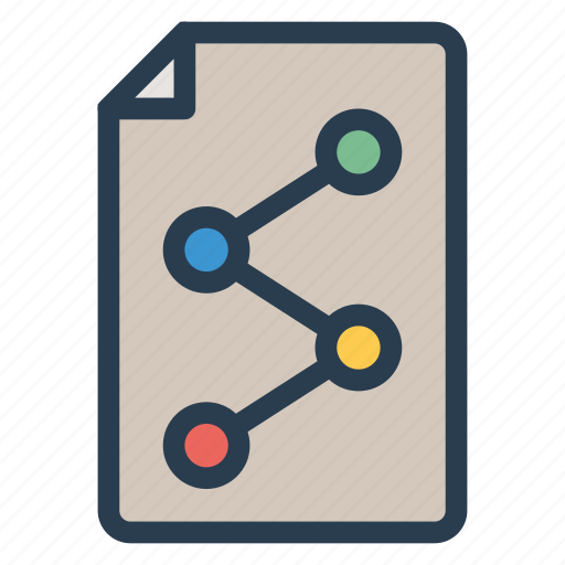 data, file, graph, information, media, share, statistic icon