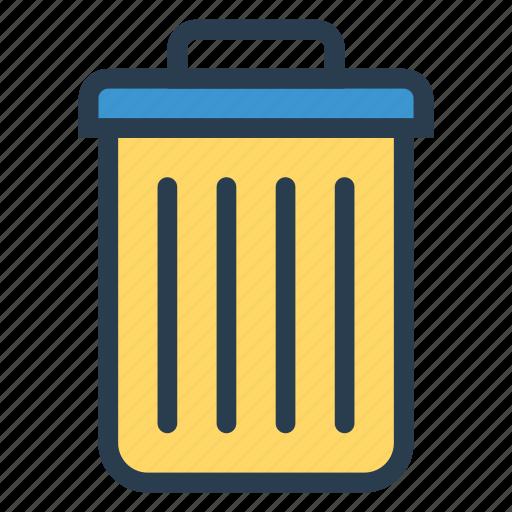 business, delete, deleted, recycle, remove, trash, trashbin icon
