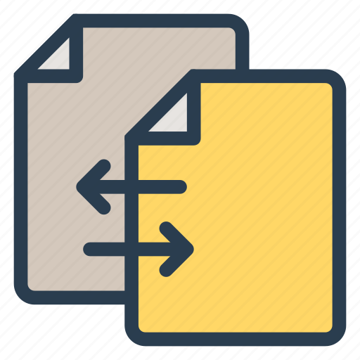 connect, data, file, paper, send, sharing, transfer icon