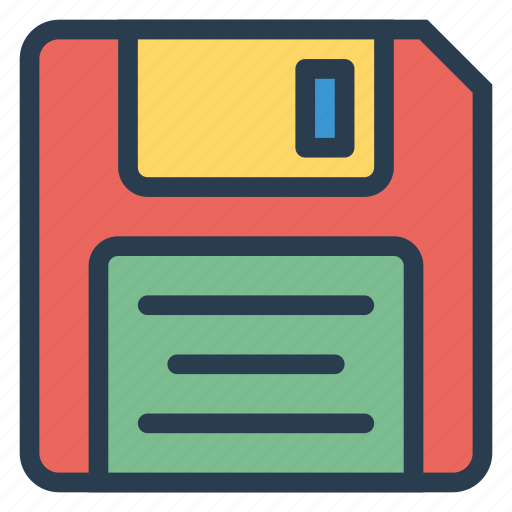 data, disc, drive, floppy, remove, save, storage icon