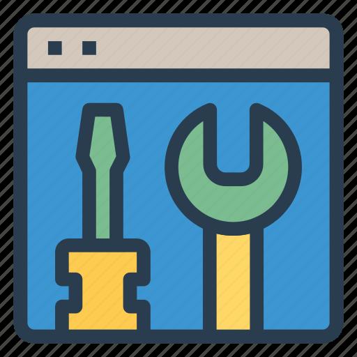 cog, development, gear, optimization, setting, tool, web icon