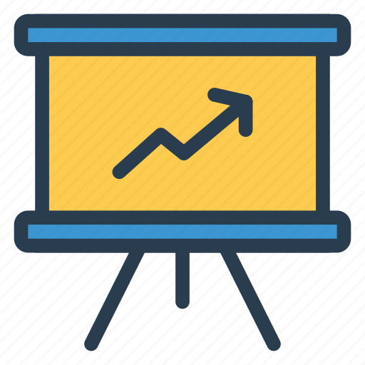 analytics, business, chart, diagram, graph, information, marketing icon