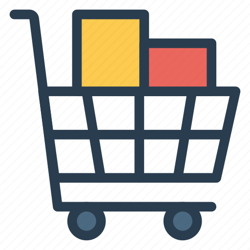 bucket, ecommerce, groceries, shopping, shoppingcart, store, trolley icon