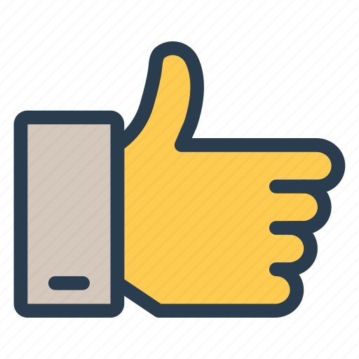 facebook, favorite, like, rate, thumbs, up, vote icon