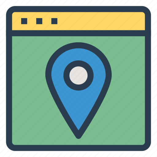 directions, internet, location, navigation, pin, seo, web icon