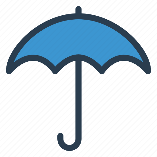 beach, nature, protection, rain, secure, umbrella, weather icon
