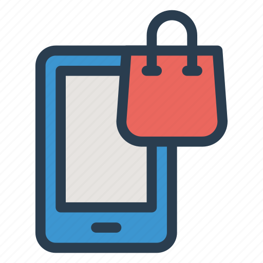 ecommerce, mobilebanking, mobileshopping, onlineshop, phone, shop, shopping icon