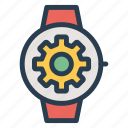 applewatch, device, iwatch, options, setting, smartwatch, watch icon