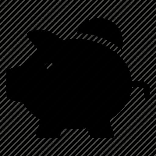 bank, budget, money, piggy, piggybank, saving, savings icon