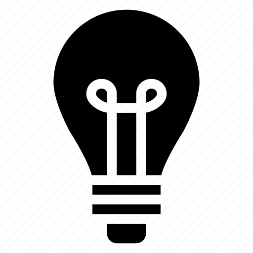 bulb, business, charge, creativity, energy, idea, solution icon
