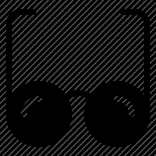 accessories, cinema, eye, glass, glasses, sports, sun icon
