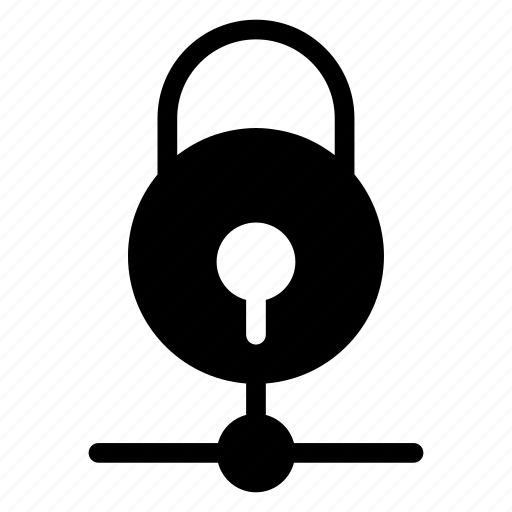 lock, padlock, protected, secure, security, server, sharing icon