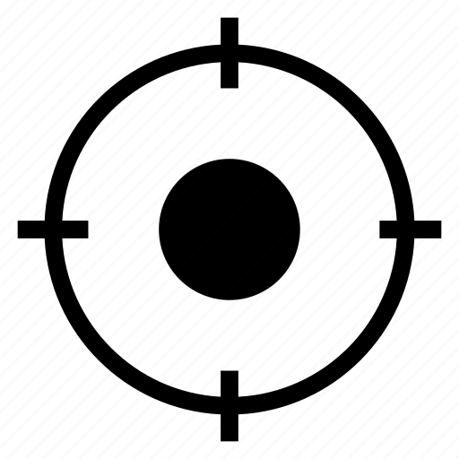 aim, arrow, focus, goal, marketing, shootingtarget, target icon