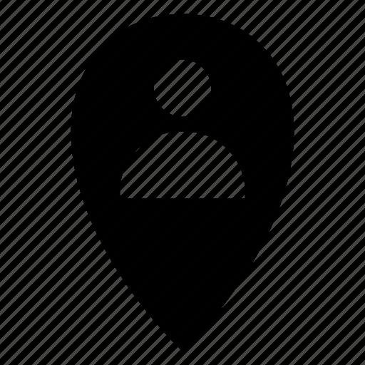 avatar, locationgps, man, person, profile, user icon