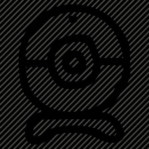camera, cctv, device, media, multimedia, video, webcam icon
