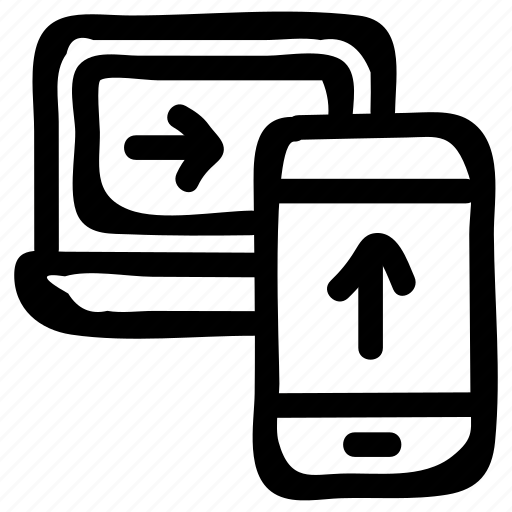 bluetooth, device, document, storage, transfer, upload, wireless icon