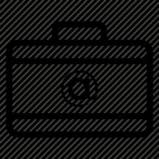 Bag, briefcase, case, office, portfolio, suitcase, work icon - Download on Iconfinder