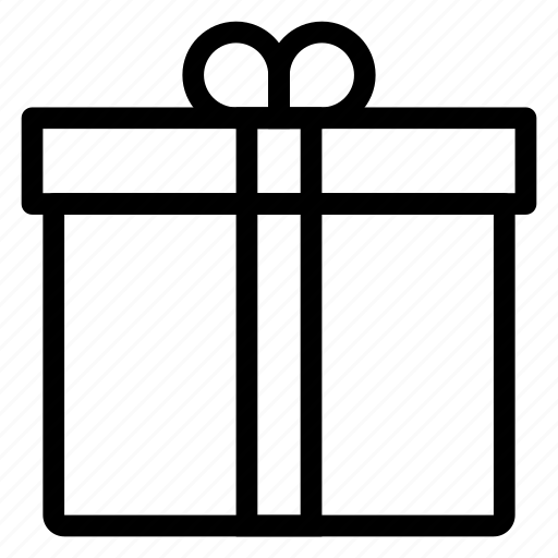 box, gift, holiday, love, present, shopping, valentine icon