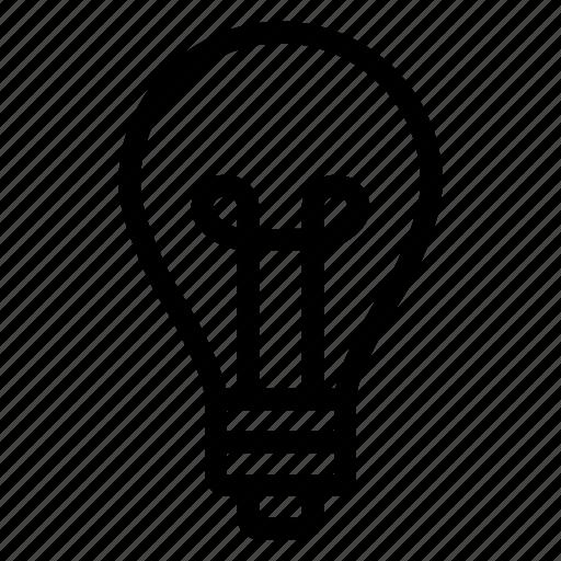 bulb, business, charge, creativity, energy, idea, solution icon