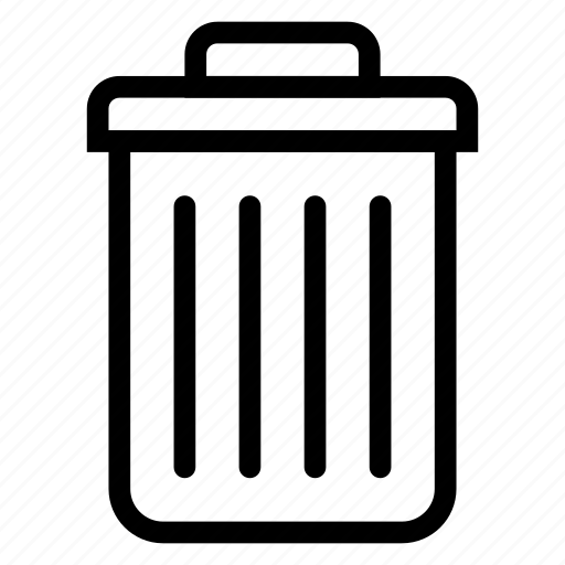 business, delete, deleted, recycle, remove, trash, trashbin icon
