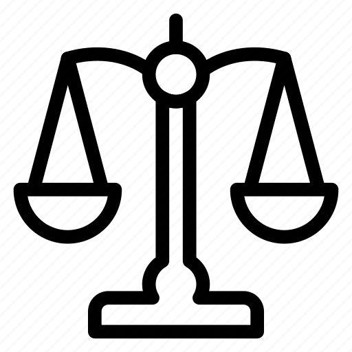 crime, gavel, hammer, justice, law, scales, tool icon