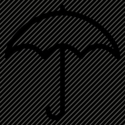 beach, nature, protection, rain, secure, umbrella, weather icon