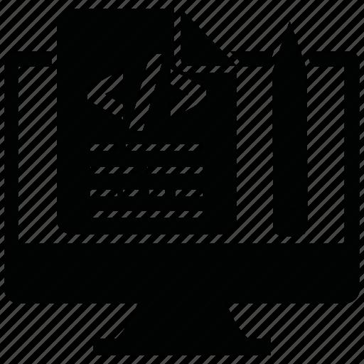 code, design, seo, seo icons, seo pack, seo services icon