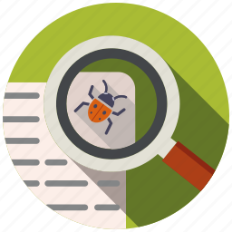 bug, code, development, fixed, optimization, seo, website icon