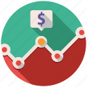 analytics, finance, graph, money, report, seo, statistics icon