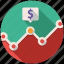 analytics, finance, graph, money, report, seo, statistics icon