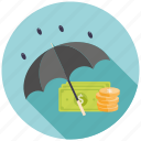 bank, coin, dollar, financial, guardar, money, save, seo icon