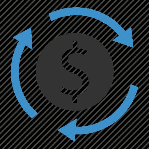 cash, dollar, financial, internet, marketing, seo, transfer icon