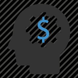 coin, ecommerce, idea, marketing, money, online, seo icon